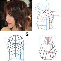 Simply Hairstyles, Hair Cutting Techniques, How To Make Hair, Short Hair Styles, Fashion Hair, Makeup, Nails, Hair, Short Hairstyles