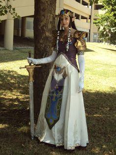 Cosplay - Princess Zelda 2 by Sparqy.deviantart.com on @DeviantArt