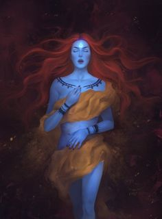 Sarai by Alexandra Curte on ArtStation. Laini Taylor, Daughter Of Smoke And Bone, Fanart, Celestial, Beauty Art, The Elf, Abstract Wall Art, Fantasy Characters, Dungeons And Dragons