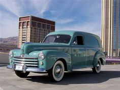 1947 Ford Sedan Delivery..... Maintenance of old vehicles: the material for new cogs/casters/gears/pads could be cast polyamide which I (Cast polyamide) can produce