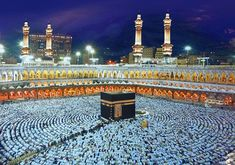 Masjid al-Haram and Masjid al-Nabawi in Mecca and Medina. | 17 Absolutely Stunning Mosques From Around The World