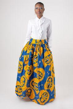Samsara Maxi Skirt