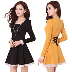 Summer Dresses 2016 New Fashion Women Dress Sexy Back Cross Lace up Ladies Mini Dresses Cute Loilita Dresses Vestidos Femininos-in Dresses from Women's Clothing & Accessories on Aliexpress.com | Alibaba Group