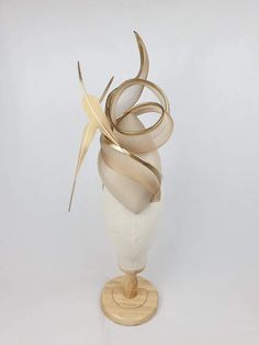 – Millinery By Mel Crazy Hats, All Design, Swirls, Fascinator, Feather, Headdress, Quill, Feathers, Headpiece