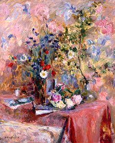 ❀ Blooming Brushwork ❀ - garden and still life flower paintings - Edouard Vuillard | Flowers, 1906