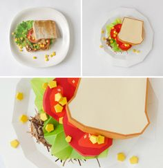 Your Serif Is Served: Typefaces Imagined As Food | Co.Design | business + design