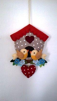 Felt Crafts, Diy And Crafts, Crafts For Kids, Arts And Crafts, Christmas Crafts, Christmas Decorations, Christmas Ornaments, Holiday Decor, Christmas Makes