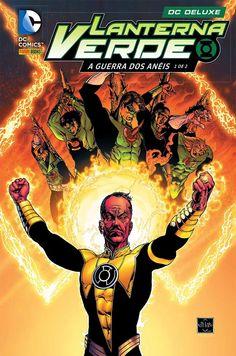 Cumbucão: Lanterna Verde: A Guerra dos Anéis   Panini relanç...