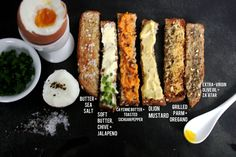 savoury-soldiers-for-soft-boiled-eggs www.lesauce.com