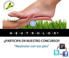 Gana tratamientos de pedicure y plantillas Neutrolor con una foto de tus pies!! #concurso #Zaragoza
