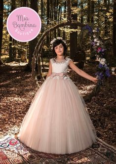 The Roanne Flower Girl Dress For Wedding by MB Boutique Canada.