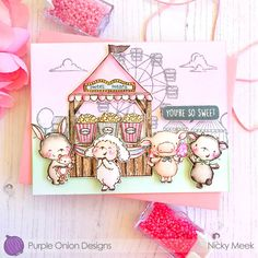 I'm back today with another Infinity Shaker Card using Frosty Friends from ⛄️ ❄️ ⛄️ I made this card just for… Paper Art, Paper Crafts, Watercolor Images, Watercolour, Lawn Fawn Blog, Pretty Pink Posh, Paint Cards, Card Maker, Card Sketches