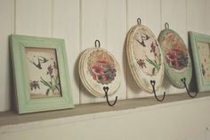 la maison boop! ♥ woodland rack and frames ♥ the country diary of an edwardian lady
