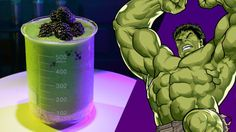 Big Guy Smoothie inspired by the Hulk   Disney Family