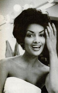 Helen Williams first African American model- She was really really sharp back in the day.