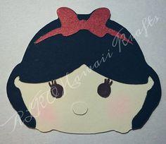 Snow White Princess Disney Tsum Tsum inspired by ALKOHawaiiKrafts