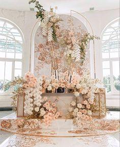 Engagement Decorations, Backdrop Decorations, Decoration Table, Backdrops, Wedding Decorations, Wedding Backdrop Design, Wedding Stage Design, Wedding Designs, Luxury Wedding Decor