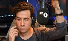 'So this is happening, it's actually happening. Good morning Britain': A nervous Nick Grimshaw makes his Radio 1 breakfast show debut Nick Grimshaw, News Just In, Good Morning Britain, Bbc Radio 1, Faith In Humanity Restored, About Uk, Dj, Shit Happens, My Love
