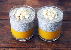 Mango Chia Pudding RECIPE ~ This is a Vegan, Nourishing Treat made with Chia seeds, Mango and your favourite nut mylk. You MUST try it!