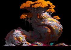 ArtStation - 蛋糕树, YU YIMING