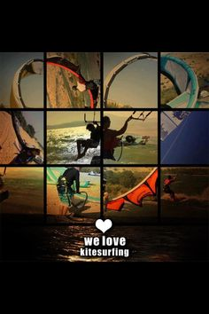 We love kitesurf!