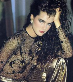 Brooke Shields Pretty Baby, Brooke Shields Young, Beautiful Celebrities, Most Beautiful Women, Beautiful Actresses, Pretty Baby 1978, Vintage Glamour, Her Hair, Hollywood