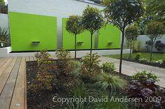 Contemporary Water Feature by David Andersen Garden Design, via Flickr
