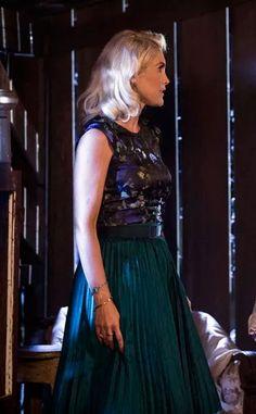 Sandra (Flavia Alessandra) Eta mundo bom, vestido dos últimos capítulos