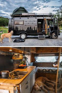 Small Camper Vans, Small Campers, Bus Camper, Camper Life, Rv Campers, Mercedes Camper Van, 4x4 Camper Van, Casas Trailer, Camping Car Van
