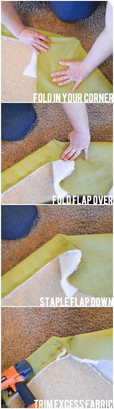 How To Upholster Corners @ vintagerevivals
