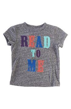 Peek 'Read to Me' baby tee