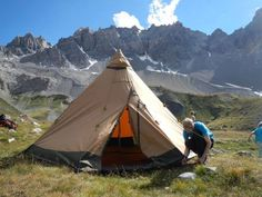 STUNNING LOCATIONS FOR YOUR TIPI Here's an old picture from our archive of Mark van Buuren setting up at the Lac Saint Anne in the Alps Tentipi on Facebook: https://www.facebook.com/Tentipi?fref=ts
