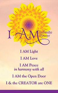 I AM Infinite Power – The Spirit of Water