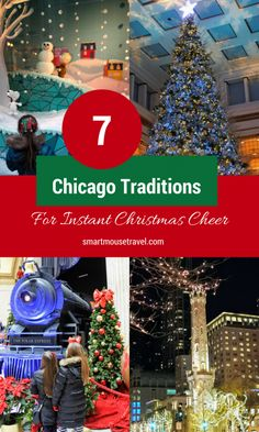 Looking for fun winter activities in Chicago? Here are our favorite things to do to celebrate Christmas in Chicago . #familytravel #chicago #christmas #milleniumpark
