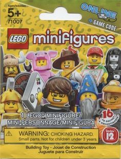 Lego Minifigures Series 12 (71007) Blind Bag (1) New/Sealed!! New Release!! HTF  #LEGO