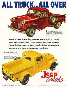 1947 Jeep trucks.