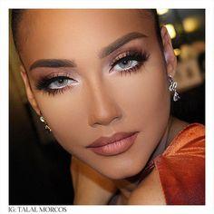 Learn about these mac makeup foundation Pic# 1406 - more_make_up_pintennium Dramatic Eye Makeup, Eye Makeup Tips, Mac Makeup, Makeup For Brown Eyes, Beauty Makeup, Makeup Ideas, Eyeliner Ideas, Apply Eyeliner, Wolf Makeup