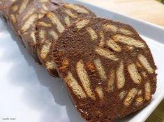 Τέλειο μωσαικό. Greek Sweets, Greek Desserts, Köstliche Desserts, Greek Recipes, Chocolate Desserts, Delicious Desserts, Cakes To Make, How To Make Cake, Cookbook Recipes