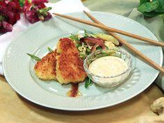 Krispig torsk med sesammajonnäs | Köket.se