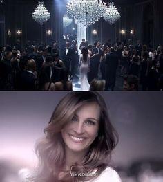 @JuliaRobertsfor@lancomeparis#chandeliersand select#furnishingsby@melrosegallery#lighting#mirrors#hollywood