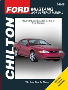 1994-2004 Ford Mustang Manual Chilton Ford Manual 26608 94 95 96 97 98 99 00 01 02 03 04 www.planetgoldilo... #automotive #trucks #motorcycles #coupons