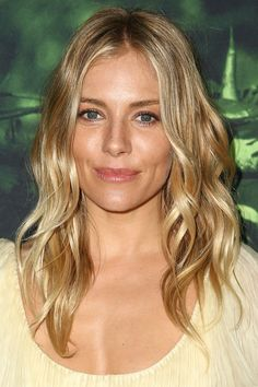 Sienna Miller's Beachy Waves