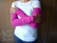 Another Arm Warmer Tutorial