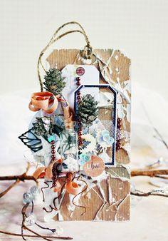 Фабрика декора: Январская стужа. Вдохновение от Татьяны Комаровой (Taniko)