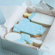 Cupcakes decoration for baby shower sugar cookies 18 Ideas Baby Shower Cakes, Fiesta Baby Shower, Baby Shower Favors, Baby Shower Parties, Baby Shower Themes, Baby Boy Shower, Baby Shower Decorations, Baby Shower Gifts, Shower Ideas