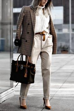 Blejzr, kousek který by vám neměl chybět v šatníku - lifestylebrno. Blazer Outfits Casual, Blazer Outfits For Women, Business Casual Outfits, Professional Outfits, Blazer Fashion, Casual Office Outfits Women, Smart Casual Work Outfit, White Outfits For Women, Casual Blazer Women