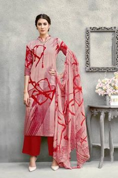 Mauve Color Pure Cotton Abstract Printed Unstitched Salwar Suit Designer Salwar Kameez, Salwar Kameez Online, Frock For Women, Suits For Women, Clothes For Women, Salwar Suits Pakistani, Suit Prices, Party Kleidung, Party Wear Dresses