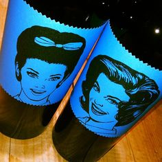 Un tinto con nombre de mujer - too bad I can't buy these at LCBO...maybe SAQ - love the bottle design!