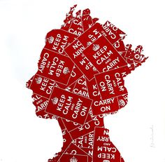 MR. BRAINWASH - KEEP CALM LIZ - ADDICTED ART GALLERY http://www.widewalls.ch/artwork/mr-brainwash/keep-calm-liz/  #Print  #Serigraph