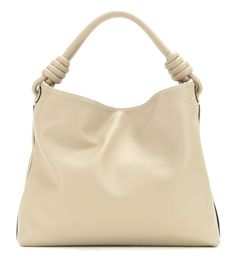 Flamenco Hobo beige leather tote